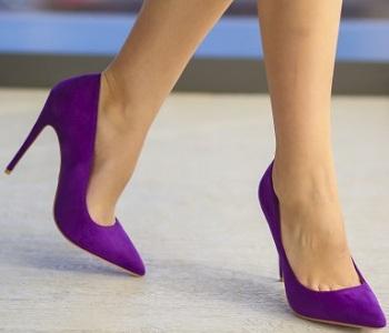 Pantofi Lapon Mov