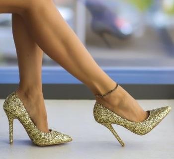 Pantofi Stoko Aurii