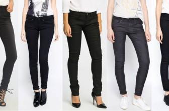 Blugi Skinny Negri de Dama – Modele Perfecte Pentru Orice Tinuta