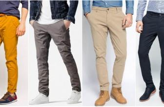 Pantaloni Chino Barbati Potriviti Pentru un Stil Smart Casual