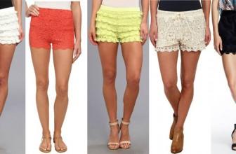 Pantaloni Scurti din Dantela – Modele Online Deosebite