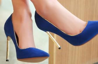 Pantofi Stiletto Albastri – Alege Online Modelele Preferate