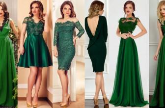 Rochii Verde Smarald – Alternativa Eleganta la Rochiile Negre