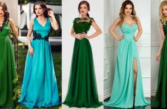 Rochii de Seara Verzi Elegante Lungi si Scurte – Modele Online