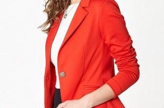 Sacouri Rosii de Dama – De Unde Cumpar un Sacou Rosu Elegant?