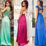 rochii lungi cu spatele decupat