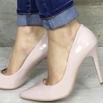 pantofi stiletto crem online