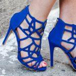 sandale albastre dama