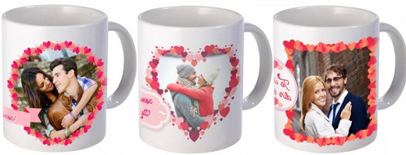 cana personalizata de Valentine's Day