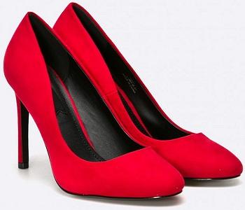 Pantofi rosii stiletto Pumps
