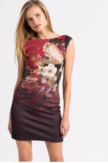 Rochie cu Flori Desigual PICHI TIBETAN