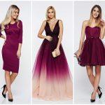 rochii ultra violet de lux