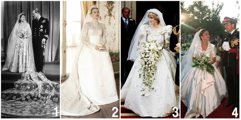 rochii de mireasa purtate la nuntile regale 1