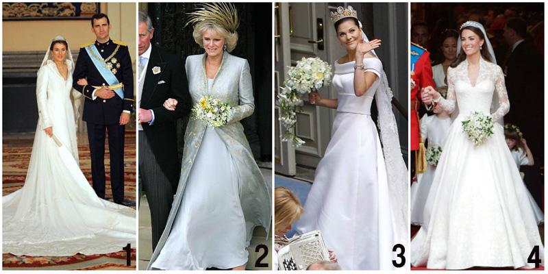 rochii de mireasa purtate la nuntile regale 2