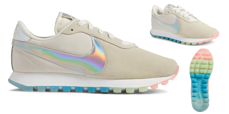 nike iridescent sneakers