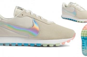 Nike a lansat o pereche de Sneakers Iridescenti si i-a numit Pre Love O.X.