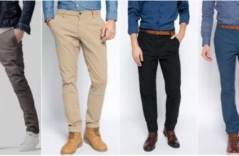 Modele de Pantaloni Casual Barbati la Moda in Acest Sezon