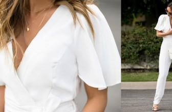 Salopete Albe Elegante de Dama – Cele Mai Frumoase Modele pe Care sa le Cumperi Online